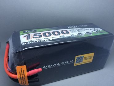 DUALSKY H.E.D. LiPo- 6S 22.2V 15000mA  333Wh - XP1500062HED - Xpower battery – Bild 2