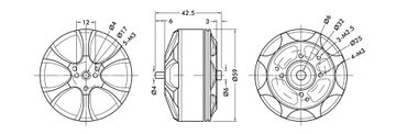 T-Motor MN5212 KV340 – Bild 8