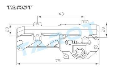 TAROT TL96030 Elektrisches Landegestell Metall/Carbon  – Bild 3