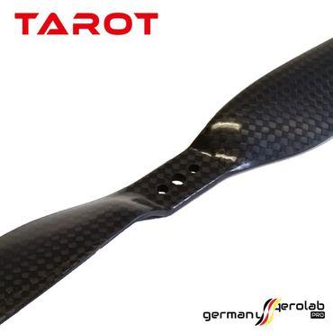 1 Paar TAROT 11x5.5 Carbon Propeller – Bild 2
