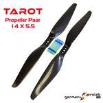 1 Paar TAROT 14x5.5 Carbon Propeller 001