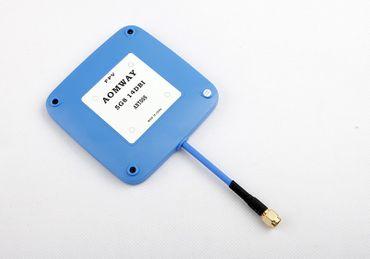AOMWAY 5.8Ghz 14 dbi SMA Plug Patch Antenne (blau) – Bild 1