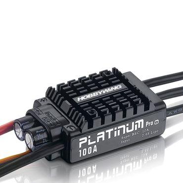 Hobbywing Regler - Platinum Pro 100A V3 - HW ESC  – Bild 2