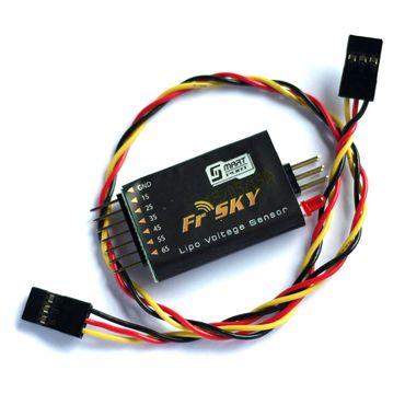 FrSky Telemetrie Sensor für Smartport : LIPO mit Display – Bild 1