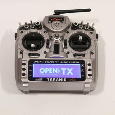 FrSky Taranis X9D Plus Mode 2 + ALU Koffer - 2,4 GHz ACCST – Bild 4