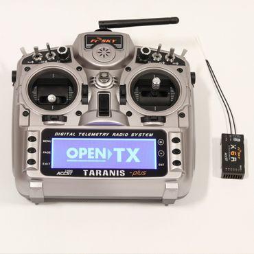 FrSky Taranis X9D Plus + X6R Empfänger + ALU Koffer 2,4 GHz ACCST – Bild 1