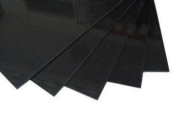 CFK Carbon Platte - 400 x 500 x 3 mm - 3K Carbon Plate - Glanz Karbon