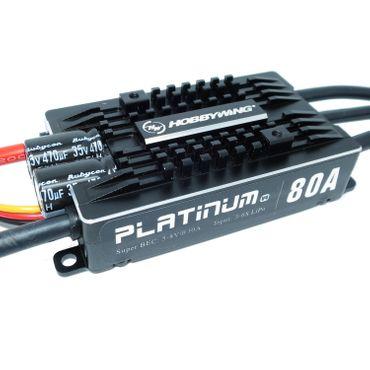 Hobbywing Regler - Platinum 80A V4 - HW ESC  – Bild 1