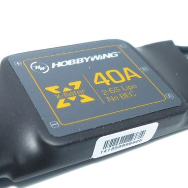 HW ESC XRotor 40A 600Hz - Wired – Bild 1
