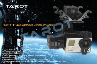 TAROT T4-3D Brushless 3 Achsen Gimbal für GoPro Hero 3 & 4 - Mod. TL3D01 – Bild 6