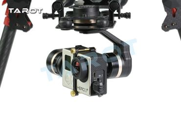 TAROT 3DIII Metall Brushless 3 Achsen Gimbal für GoPro 3 u 4 - Mod. TL3T01 – Bild 9