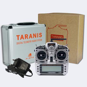 FrSky Taranis X9D Plus Mode 1 + ALU Koffer - 2,4 GHz ACCST – Bild 1