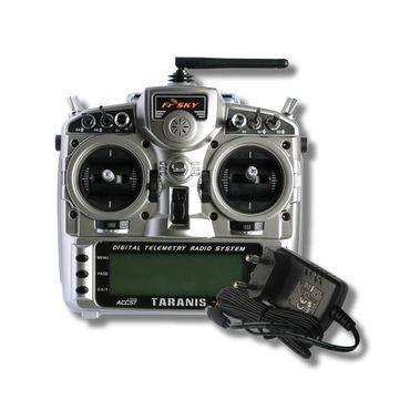 FrSky Taranis X9D Plus Mode 1 + ALU Koffer - 2,4 GHz ACCST – Bild 2