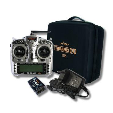 FrSky Taranis X9D Plus Mode 1 + X8R Empfänger + Soft Koffer 2,4 GHz ACCST – Bild 1