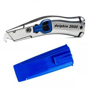 Delphin® 2000 Universalmesser inkl. Köcher blau 100310