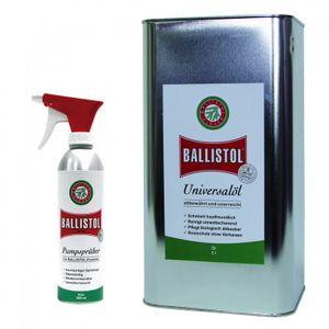 BALLISTOL Öl 5 Liter Kanister inkl. 1 Handsprüher leer Waffenöl Pflegeöl Krichöl