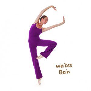 GRISHKO Ballettanzug Einteiler - Träger - jazz pants - Unitard - Ganzanzug