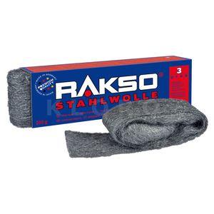 RAKSO® Stahlwolle Sorte 3   Paket mit 200 g  010306