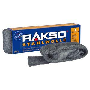 RAKSO® Stahlwolle Sorte 1   Paket mit 200 g  010106