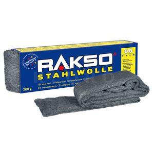 RAKSO® Stahlwolle Sorte 00   Paket mit 200 g  010706
