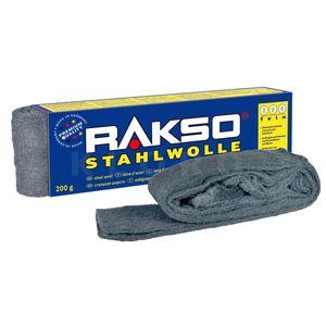 RAKSO® Stahlwolle Sorte 000   Paket mit 200 g  010606