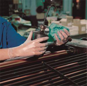 MAPA Solo 990 PVC Größe 9  Schutzhandschuh aus Vinyl   Box mit 100 Stück – Bild 2