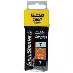 STANLEY Kabelklammern 14 mm  1-CT109T  1000 Stück