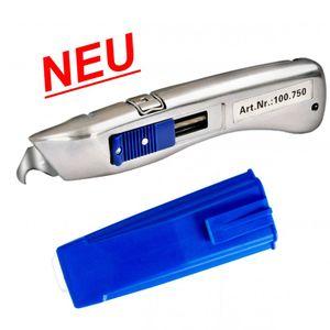 Delphin® 2013 Sicheheitsmesser  inkl. Köcher blau 100750