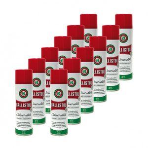 BALLISTOL Spray, 12 Dosen a 400 ml Waffenöl Kriechöl Pflegeöl 21810