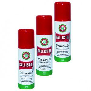 BALLISTOL Spray, 3 Dosen a 100 ml Waffenöl Kriechöl Pflegeöl 21600
