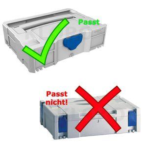 TANOS systainer® T-Loc I- V    Würfelmittelpolster hart 50 mm    80101010 – Bild 2