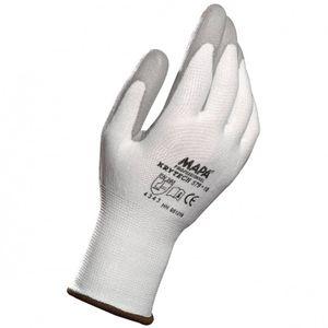 MAPA Krytech 579 Größe 7  weiß Schnittschutz Handschuh Polyurethan besch. 1 Paar