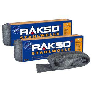 RAKSO® Stahlwolle Sorte 1   2 Pakete mit je 200 g   010106