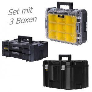 STANLEY FATMAX TSTAK Box IV + Box V + Box VI  3 Werkzeugboxen – Bild 1