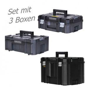 STANLEY FATMAX TSTAK Box II + Box III + Box VI  3 Werkzeugboxen – Bild 1