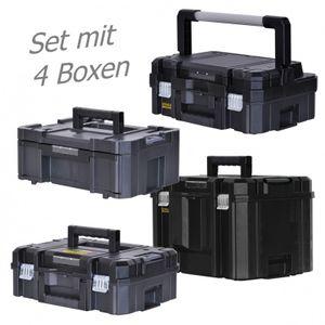 STANLEY FATMAX TSTAK Box I + Box II + Box III + Box VI  4 Werkzeugboxen – Bild 1