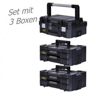 STANLEY FATMAX TSTAK Box I + 2 Stück Box IV  3 Werkzeugboxen – Bild 1