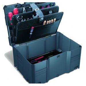 TANOS Werkzeug-systainer® T-loc III anthrazit + Werkzeugdeckel 3-tlg.+ -einsatz – Bild 1