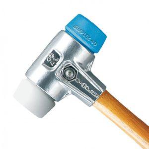 HALDER Simplex Schonhammer ALU-Gehäuse Superplastik/TPE-soft 3117 versch. Größen – Bild 1