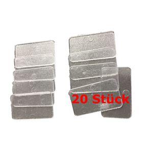 MW24 Set Trennplättchen für Kleinteilemagazin 1-93-980 / 981   20 Stück  Trennstege Lagersichtkasten  1-97-524 – Bild 1