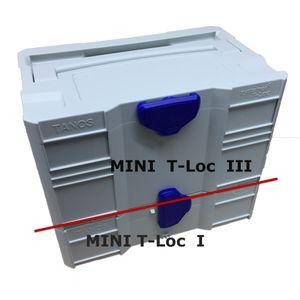 TANOS MINI systainer® T-loc III Leer-systainer  doppelte Höhe  lichtgrau   80102122 – Bild 3