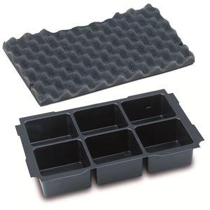 TANOS MINI-systainer® T-Loc I  Einsatz 6-fach Einteilung mit verschiedenen Deckeleinlagen Deckelpolstern 90100018 – Bild 5