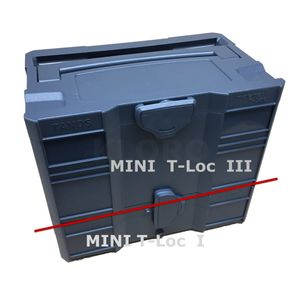 TANOS MINI systainer® T-loc I oder III   verschiedene Leer-systainer   90100010 – Bild 12
