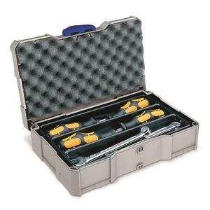 TANOS MINI systainer® T-loc I lichtgrau komplett Set mit versch. Einsätzen + Polstern  90100013 – Bild 6
