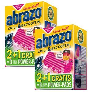 abrazo® GRILL & BACKOFEN   2 Pakete mit je 2 Stück + je 1 Pad GRATIS   285536