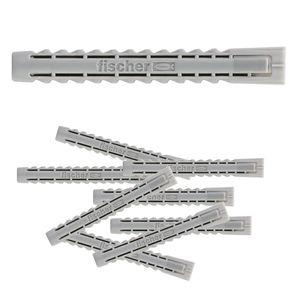 FISCHER SX 6 x 50 100 Stück Spreizdübel Universaldübel Hohlraum-Dübel Nylondübel – Bild 1