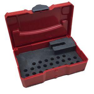 TANOS Micro systainer® rot mit Bit-Einlage leer