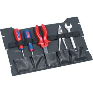 TANOS Service Systainer mit Boxeneinsatz + Werkzeugdeckel + Einlage + Griff grau – Bild 6