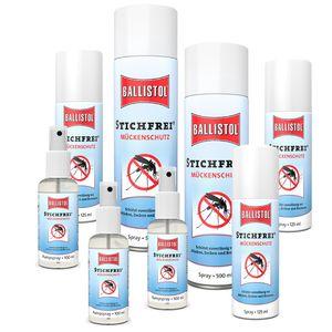 STICHFREI  Mücken- + Insektenspray Ballistol Spray oder Pumpspray – Bild 1