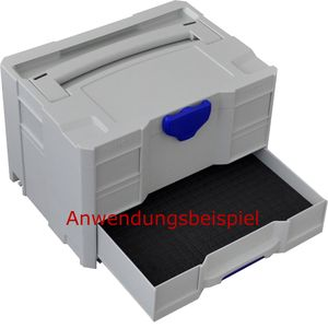 TANOS systainer® Bodenpolster für Schublade T-Loc SYS-Combi II + III, SYS-Sort IV/3  80102318 – Bild 2